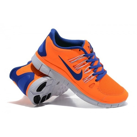 Nike Shoes Dame Free Run 50 SneakerPoshmark Gratis 50 løbende sneakers i Neon Orange Poshmark
